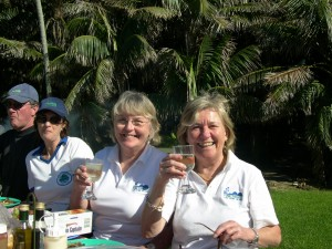Pixie Rourke & Kerry McFadyen sisters who run Pinetrees Lord Howe Island, born and bred there