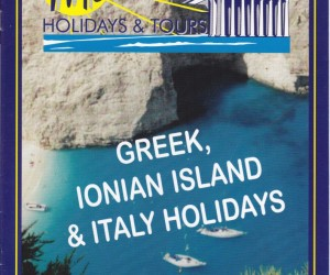 Our first Mediterranean  Holidays & Tours brochure