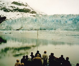 """SMALL CRUISE SHIPS LIKE """"SPIRIT OF GLACIER  BAY"""" GET RIGHT UP CLOSE TO GLACIERS"""