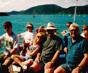 Woodies and Teagles on boat to South Molle Island
