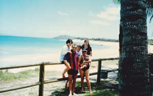 Woody family at Great Keppel Island