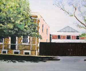 Girls Friendly Society GFS Pennington Terrace, North Adelaide, painting by Colleen