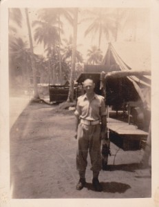 My Dad Lt. Geo Goodfellow in Papua New Guinea