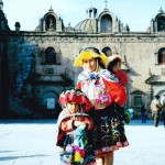 Peruvians at Cuzco Cathedral