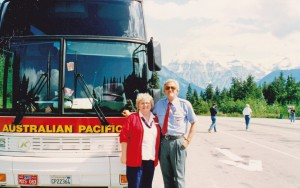 APT's north american tour guide Bobby Robinson and driver John