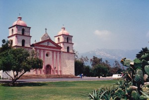 Beautiful Santa Barbara Mission