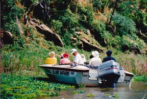 They proved you could take the boat trip up the mountain to Matusadona