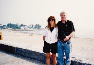 Cathy Toohey and John at Portsmouth New Hampshire near Maine