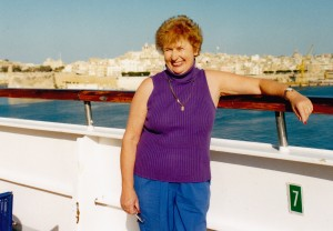 Me on board Costa Classica at Malta