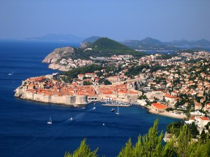 Lovely Dubrovnik with its city wall