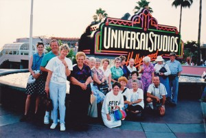 First group to the USA 1992