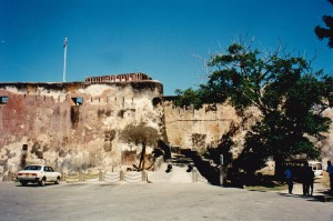 Fort Jesus Mombasa a fort built by the Portuguese