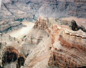 Grand canyon from our 6 seater aircraft