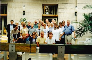 Our lovely group to Italy and Greece in 2002