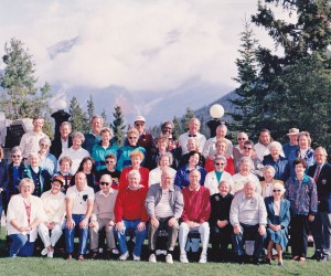 Our first HWT Cowra group to Canada and the USA in 1993
