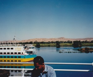 On 'Serenade' cruise on Nile