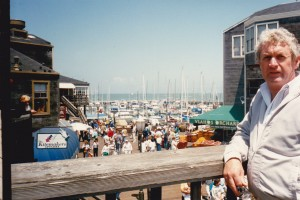 John at Pier 39 San Francisco where the tours go from to Alcatraz
