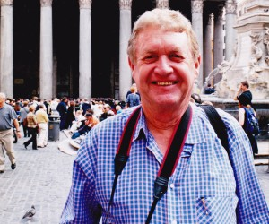 JOHN AT THE PANTHEON ROME