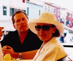 JOHN AND VIVIEN LOWTHER LUNCH BURANO