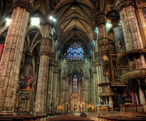 MILANO CATHEDRAL INTERIOR