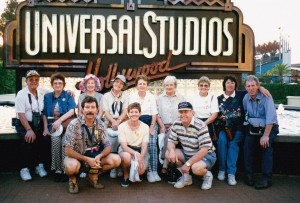 HWT COWRA GROUP at Universal Studios