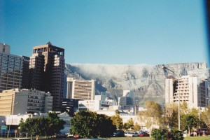 Table Mountain Capetown a lovely clean city