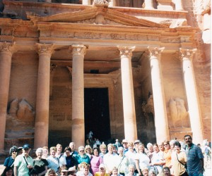Geoff Phillips group to Egypt and Jordan with tour guide Naim