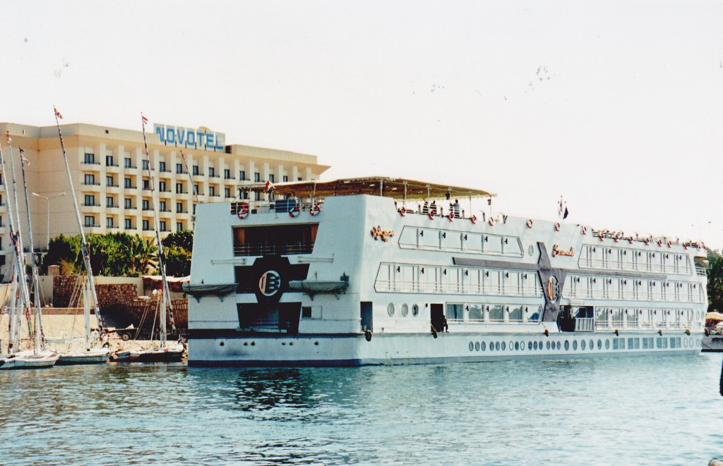 "Cruise on the Nile on 'Serendade"" Nile Romance"