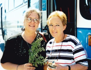 The best tour guides in travel in Greece Michelle and Phyllis in Rhodes