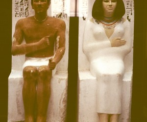 Prince Rahotep and his wife Nofret