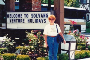 Me at Solvang with Venture Holidays