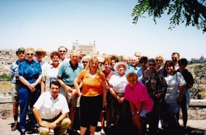 Group from Cowra at Toledo Spain