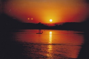 Only one thing better than sunrise on the Nile is sunset.