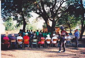 Concert performed by Baobab school for our group with Master Mr Charles Nduna