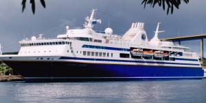 """Olympia Explorer"" not a large vessel but very well appointed"