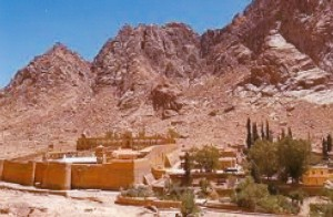St. Catherine's monastery in the Sinai