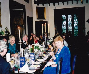 At Globus special dinner Malahide Castle with Australia's Ambassador to Ireland Mr Bob and Mrs Halvorsen
