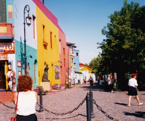 Coloured houses of La Boca