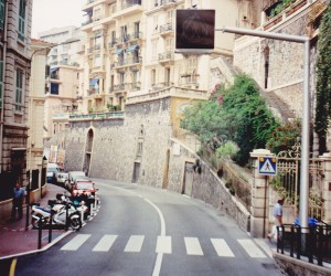 Grand Prix racetrack Monte Carlo