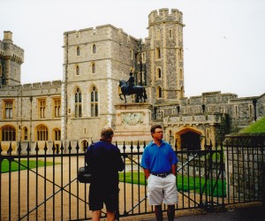 John and Adam at WINDSOR CASTLE