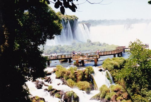 More water Iguazu from bedazzling Brazilian side