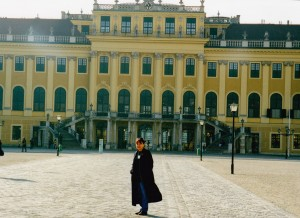 Nia Carras AW Perth Manager at Schonbrunn Palace Vienna
