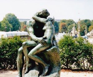 Rodin's sculpture in the park