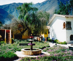 At Posada del Inca resort in the Sacred Valley with its peaceful aura, swaying flora, and tall eucalypts