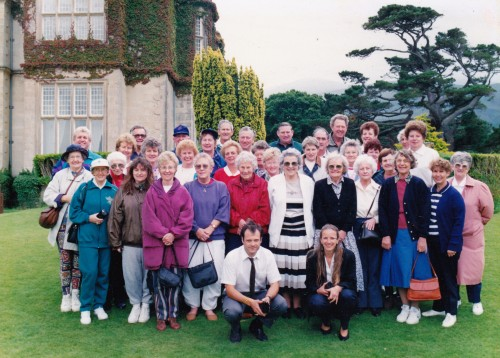 HWT Cowra group at Muckworth House Ireland not far from Killarney