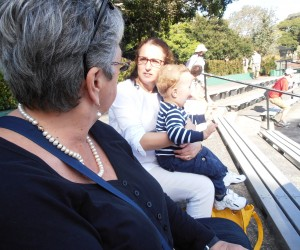 Michelle, Nectaria and her little boy Johannes at the Zoo