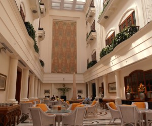 Lobby lounge at THE IMPERIAL HOTEL NEW DELHI