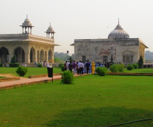 Summer Palace at Red Fort