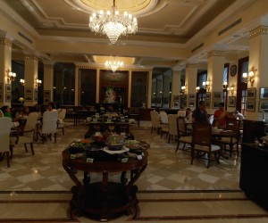 The Imperial New Delhi dining room