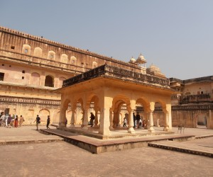 Hall of Private Audience at Amber Fort